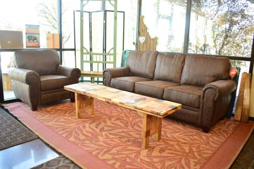 Brown Living Room Set