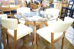 Creme Dining Room Set