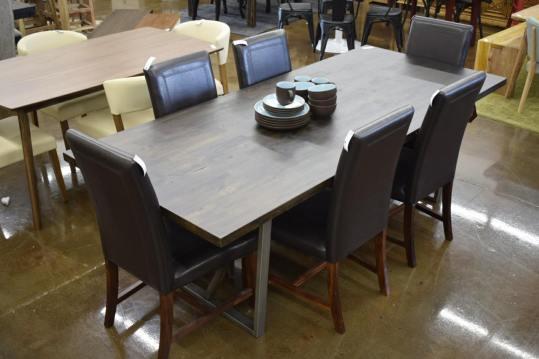 Long Dark Table