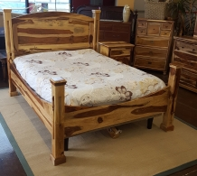 Queen Wood Bed