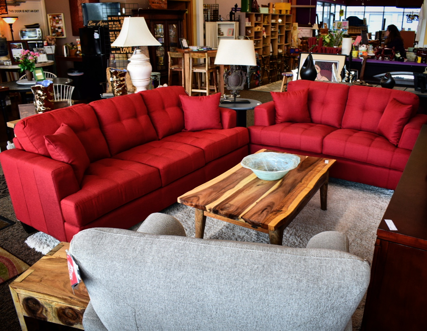 Superbe Red Living Room Group From Coaster Furniture