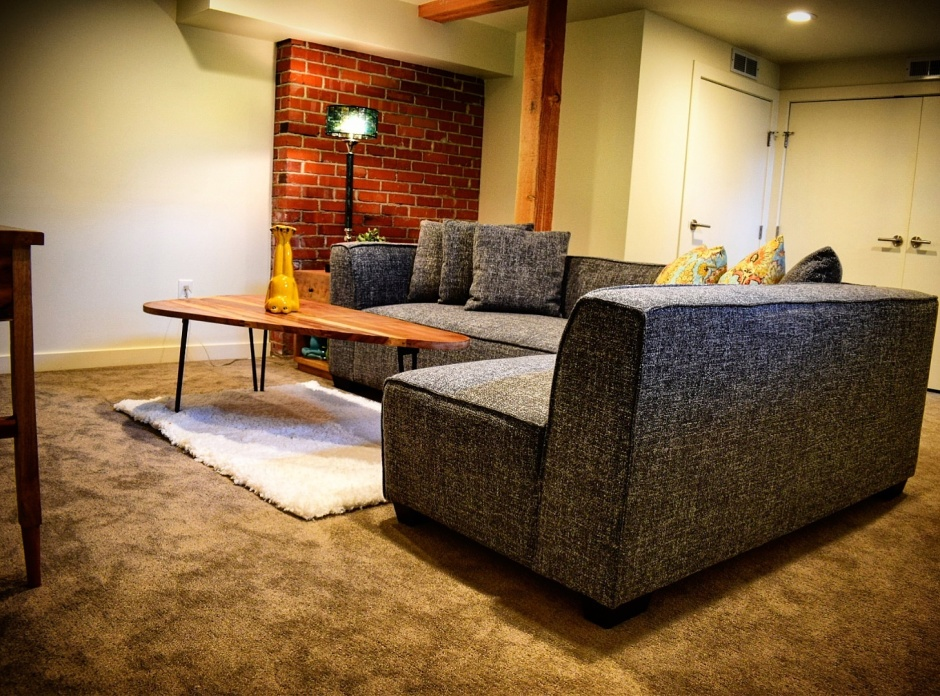 Home Staged Basement