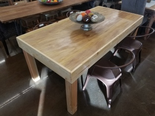Rect Wood Dining Table